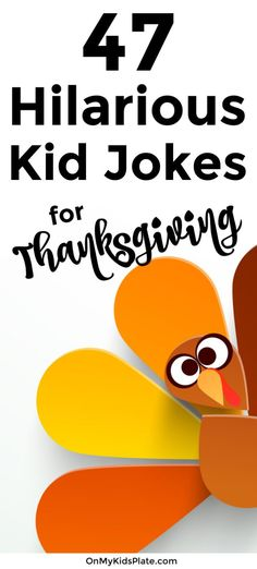 Thanksgiving Jokes For Kids ~ On My Kids Plate