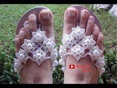 Chinelo Luxo para Noiva Chique! Por Maguida Silva! - YouTube