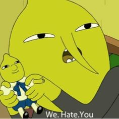 [Adventure Time] Earl of Lemongrab Cartoon Network, Reaction Pictures, Funny Pictures, Adventure Time Quotes, Haha Funny, Funny Memes, Abenteuerzeit Mit Finn Und Jake, Adveture Time, Time Art