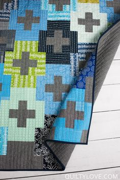 2017 Quilty Love Quilts. I completed 34 quilts in 2017. All of these quilts are listed here. Most are Quilty Love patterns.