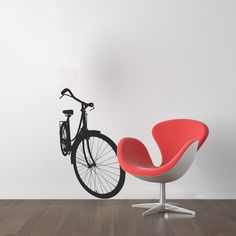 Bicycle - wallsticker