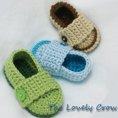 Baby Boy Loafers Crochet Pattern Booties for by ebethalan, $5.95 wasnt going to buy this pattern but i think i have to.