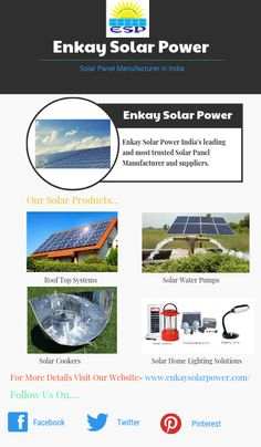 solar panel manufacturer in india Solar Panel Manufacturers, Solar Water Pump, Solar Cooker, Solar House, How To Create Infographics, Lighting Solutions, Home Lighting, Solar Panels, High Definition