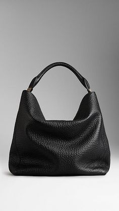 Sling 12 Suede Hobo Bag Black | Hobo bags, Neiman marcus and Bag