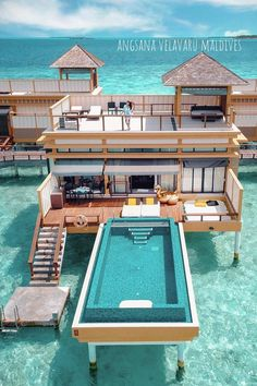 Superb villa in ✨ Be sure that to look at our story posts! Photograph by juju.love Maldives Amazing villa in ✨ Make sure to watch our story posts! Photo by juju. Vacation Places, Dream Vacations, Vacation To Jamaica, Vacation Spots, Villa Am Meer, Dream Mansion, Luxury Homes Dream Houses, Beautiful Places To Travel, Beautiful Hotels