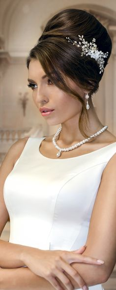 bridal hair comb by TopGracia