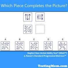 This is a tough one for 4th-6th graders! Can your child solve it? #NNAT #practice