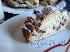 Torta Angelica con gocce di cioccolato