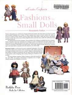 Fashions for small dolls 32