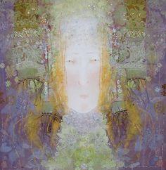 "Saatchi Online Artist: Yulia Luchkina; Mixed Media, 2011, Painting ""Tsarevna. """