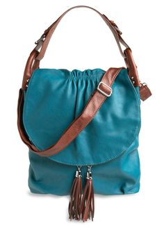 Turquoise large bag. Love, but maybe wider than longer..longer handle