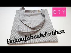 DIY Einkaufsbeutel nähen | Einkaufstasche nähen | Beutel nähen | DIY Kajuete - YouTube