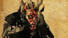 Preview Wallpaper Star Wars Darth Maul Art 2560x1440