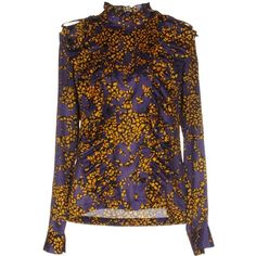See By Chloé Shirt ($230) ❤ liked on Polyvore featuring purple and see by chloé