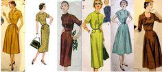 Fifties Fashion #Vintage #Retro