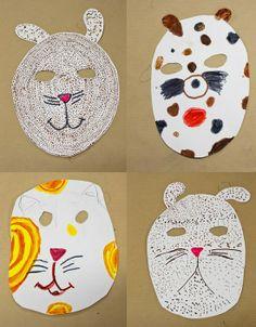 pintalalluna: Máscaras de Carnaval