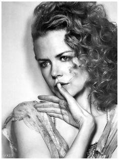 Nicole Kidman (1967) - Australian actress, singer and film producer. Photo Irving Penn for Vogue, 2003