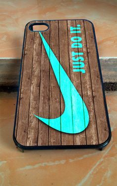 Nike print on wood for iphone 4/4s/5/5c/5s/6 by usircantik