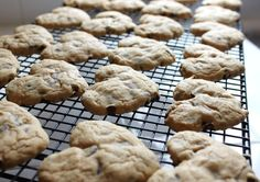 Chewy Heart Shaped Chocolate Chip Cookies