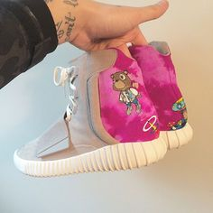 adidas Yeezy Boost Graduation Custom via | Sole Collectorimage via @elcappyMore sneakers here.