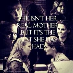 She isn't her real mother, but it's the best she has had. Beckett and Alexis on Castle