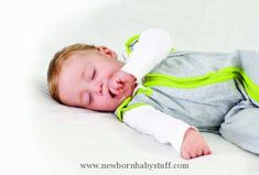 Baby Boy Clothes Baby Deedee Sleep Nest Lite Baby Sleeping Bag, Heather Gray Lime, Medium (6-18 Months)