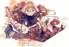 """Кукол дергают за нитки, На лице у них улыбки, И играет клоун на трубе."" Spirited Away Movie, Manga, Disney Now, Studio Ghibli Art, Pretty Drawings, Ghibli Movies, Film Studio, Hayao Miyazaki, Anime Sketch"