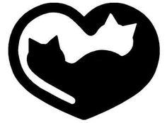 Ideas For Cats Tattoo Silhouette Kitty Cat Quilt, Cat Crafts, Cat Tattoo, Tiny Tattoo, Cat Drawing, Scroll Saw, Pyrography, String Art, Cat Art