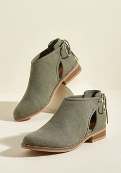 Canvas on Campus Ankle Bootie in 6 by Rocket Dog from ModCloth