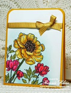 Stamping with Klass: Bloom with Hope for Queen Dini