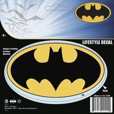 Batman Symbol Standard Logo Car Window Sticker Decal @ niftywarehouse.com #NiftyWarehouse #Batman #DC #Comics #ComicBooks