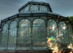 beautiful conservatory...