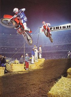 Rick Johnson and David Bailey