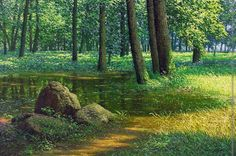 Nature paintings by An Jung-Hwan