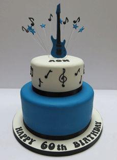 Musical Guitar cake
