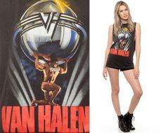 3894b025320 Van Halen Shirt 80s BAND TEE 1986 Tour 5150 Vintage 1980s American Rock  Tank Top Cut Off Men Women Black Cotton Rocker Small Medium