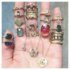 """jewelz for dayz ✨✨"" Photo taken by @styleaddict on Instagram, pinned via the InstaPin iOS App! http://www.instapinapp.com (07/02/2014)"