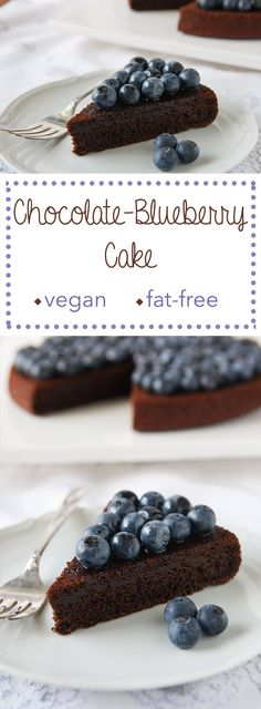 There are blueberries IN this chocolate blueberry cake, a dark, delicious, dense, and almost brownie-like dessert.