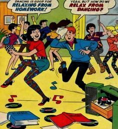 Read all the Archie comics as a kid in the 60's!