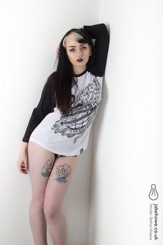 Some work for Deth Kult Clothing.  Model: Betha Maeve Photographer: Jake Howe  Studio: The Photo Parlour, Nottingham