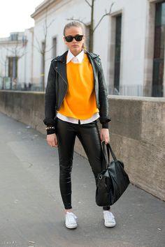 El street style de Paris Fashion Week Otono 2013 | Galería de fotos 30 de 36 | Vogue México