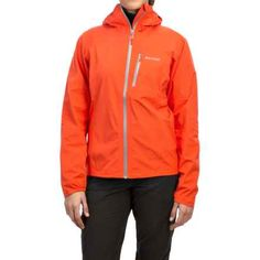Marmot Essence NanoPro® Jacket - Waterproof (For Women) in Coral Sunset - Closeouts