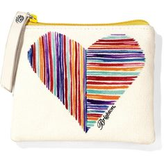 Brighton Bright Hearts Small Pouch, perfect for keeping that change off the bottom of your purse!  $18