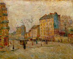 Vincent van Gogh - Boulevard de Clichy