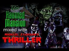 enjoy :) if you haven't seen Michael Jackson's THIS IS IT there's a nice Haunted mansion reference in the Thriller segment which . Michael Jackson Thriller, Projection Mapping, Haunted Mansion, Disneyland, Joker, Mansions, Disney Stuff, Movie Posters, Holidays
