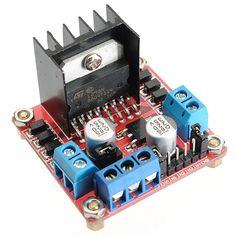 [US$5.10] 2Pcs Geekcreit® L298N Dual H Bridge Stepper Motor Driver Board For Arduino #2pcs #geekcreit #l298n #dual #bridge #stepper #motor #driver #board #arduino
