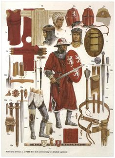Kingdom Of Jerusalem Soldiers Equipment