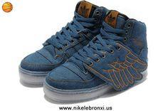 2014 Adidas X Jeremy Scott Wings Denim Shoes