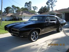 68 GTO....just like Dad's except these are not the right wheels and rims.