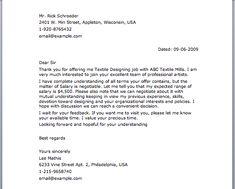 Financial Letter | Letter Samples | Pinterest | Letters
